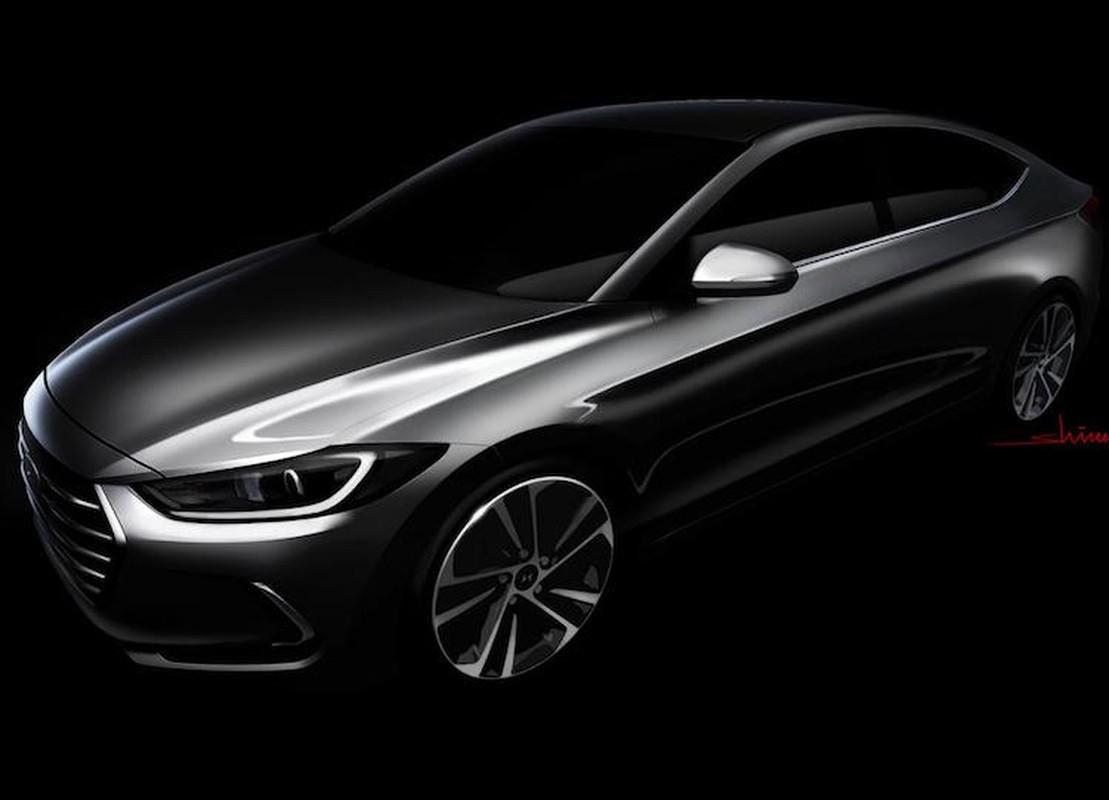 Hyundai tung loat hinh anh mau sedan hang C Elantra/Avante