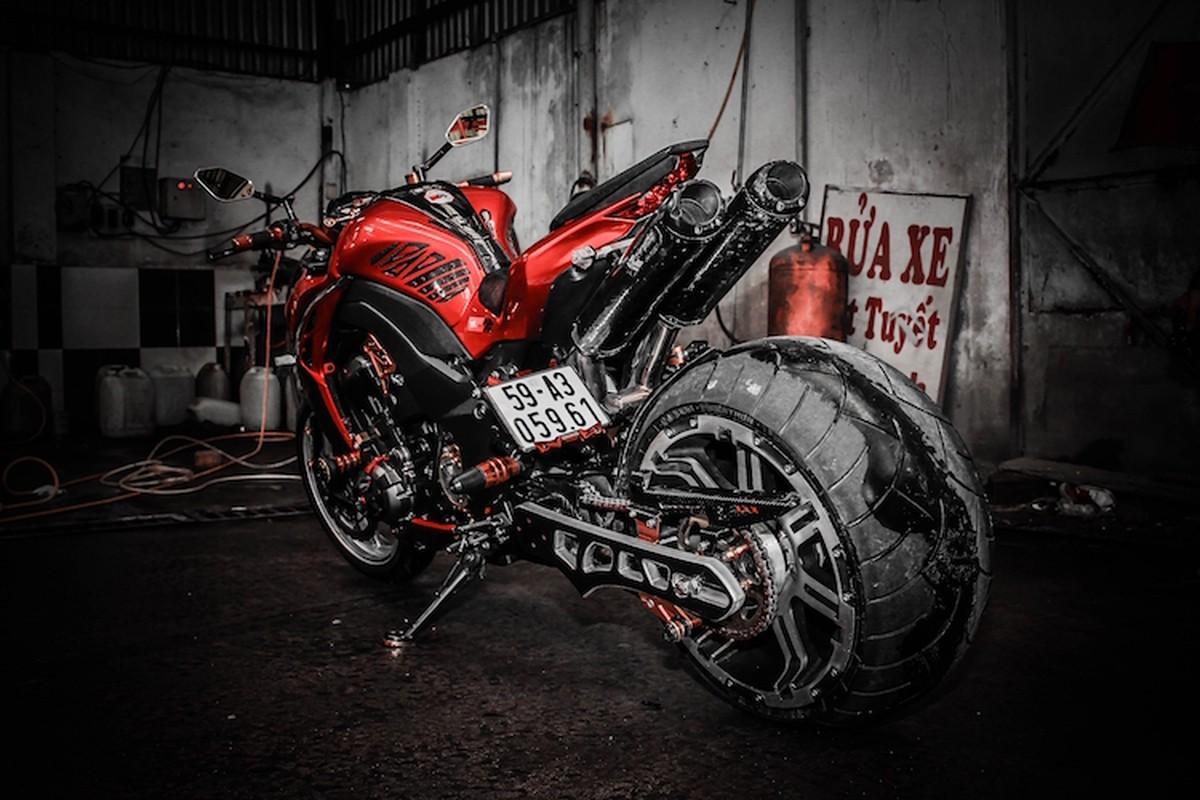 """""""Quai vat"""" banh lon Kawasaki Z1000 hang doc tai Sai Thanh-Hinh-7"""