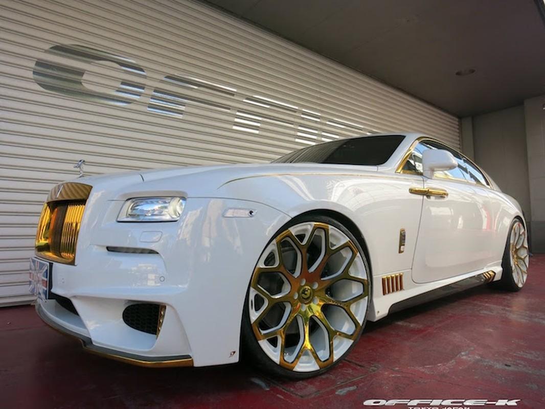 Ngam sieu xe sang Rolls-Royce Wraith ma vang
