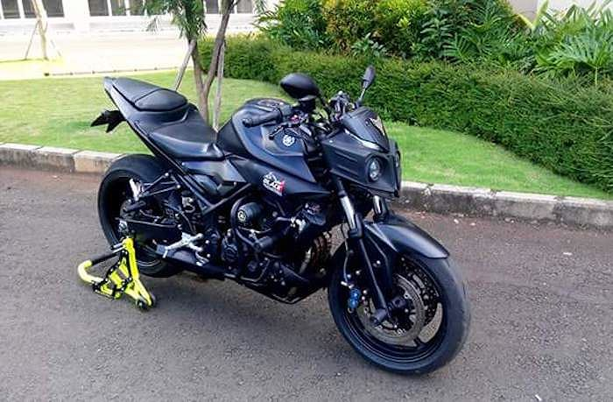 "Dan choi ""bien hinh"" Yamaha MT-25 thanh sieu moto-Hinh-8"