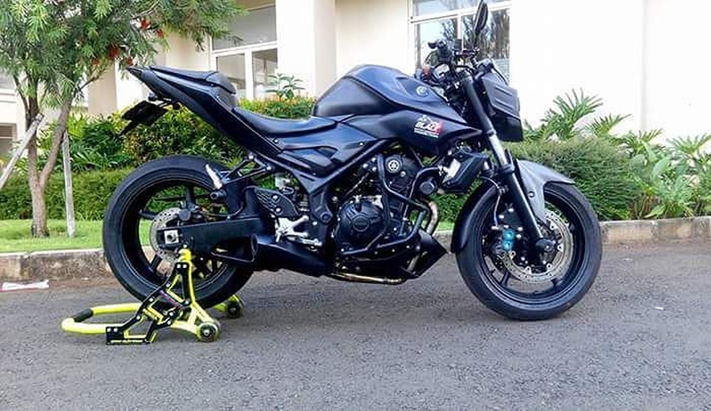 """Dan choi """"bien hinh"""" Yamaha MT-25 thanh sieu moto"""