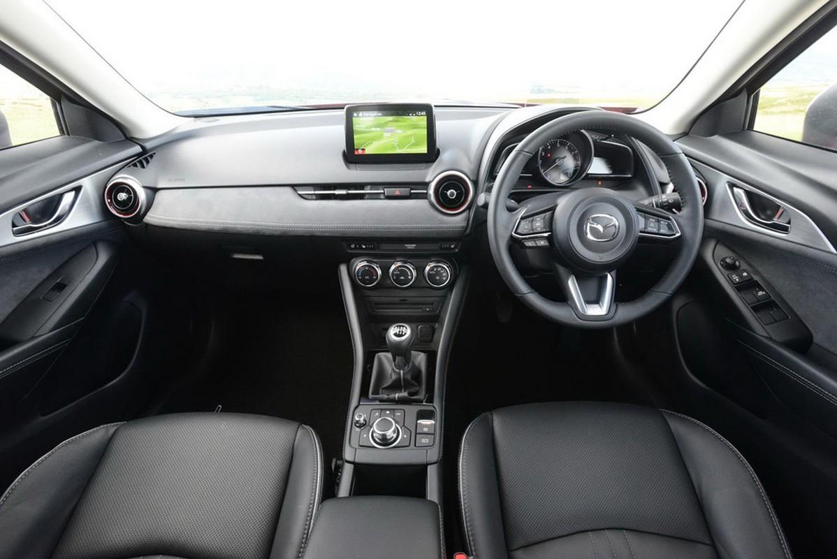 Chi tiet Mazda2 va CX-3 Black Edition 2018 ban gioi han-Hinh-5