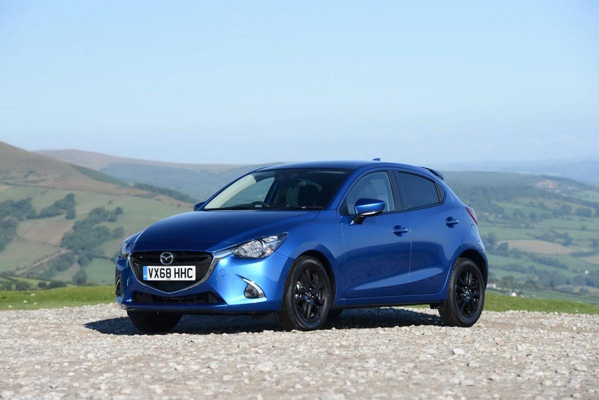 Chi tiet Mazda2 va CX-3 Black Edition 2018 ban gioi han-Hinh-7