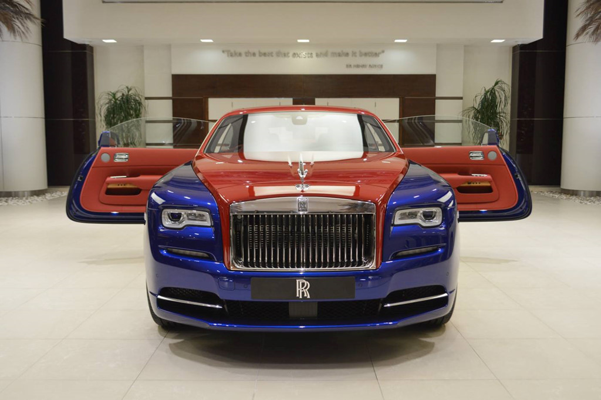 Sieu xe sang Rolls-Royce Wraith mau doc nhat nhat the gioi-Hinh-2