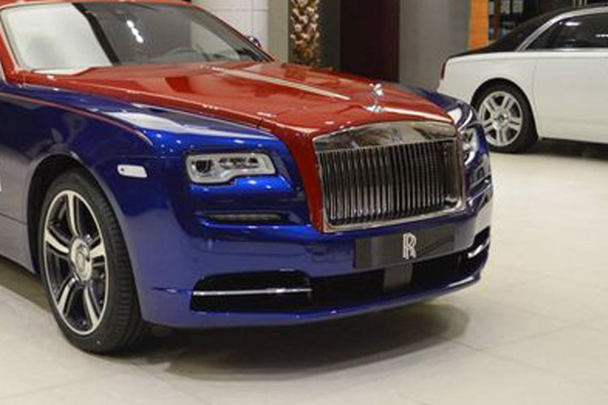 Sieu xe sang Rolls-Royce Wraith mau doc nhat nhat the gioi-Hinh-4