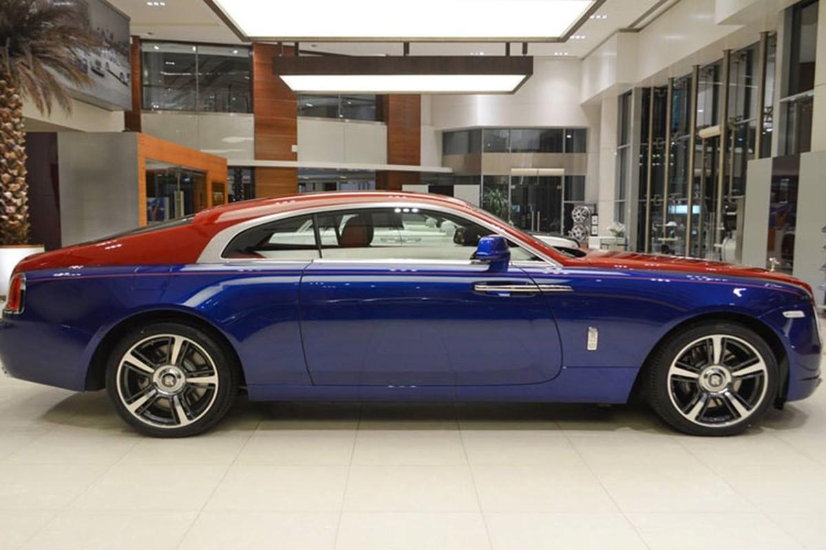 Sieu xe sang Rolls-Royce Wraith mau doc nhat nhat the gioi-Hinh-5