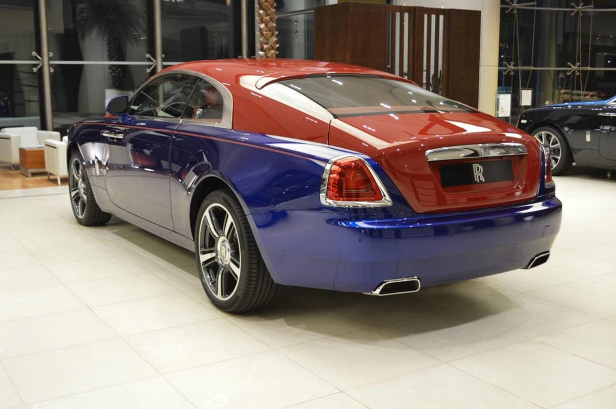 Sieu xe sang Rolls-Royce Wraith mau doc nhat nhat the gioi-Hinh-6