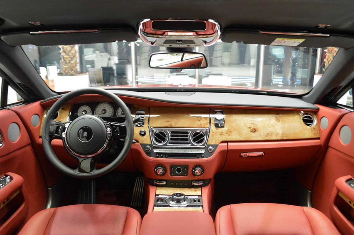 Sieu xe sang Rolls-Royce Wraith mau doc nhat nhat the gioi-Hinh-7