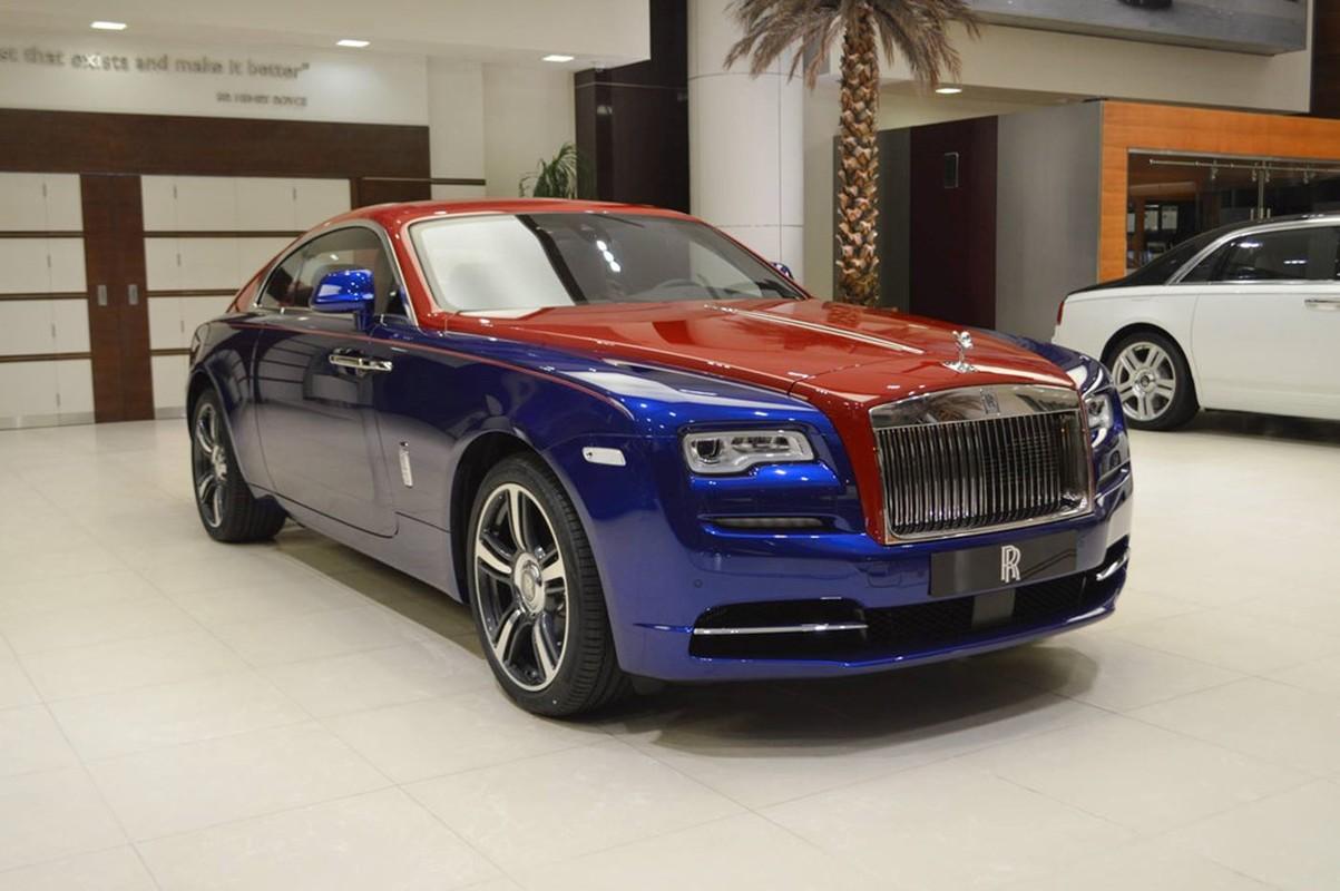 Sieu xe sang Rolls-Royce Wraith mau doc nhat nhat the gioi