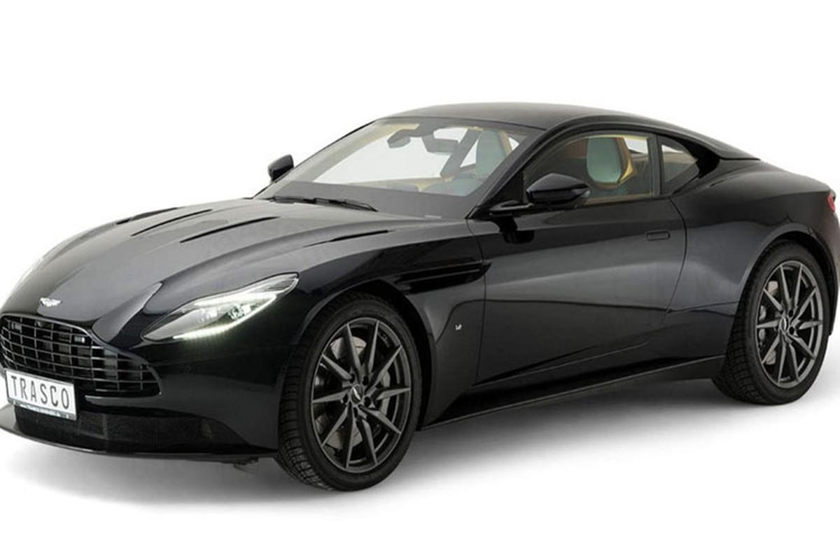 Xe boc thep chong dan Aston Martin gia 4,6 ty dong