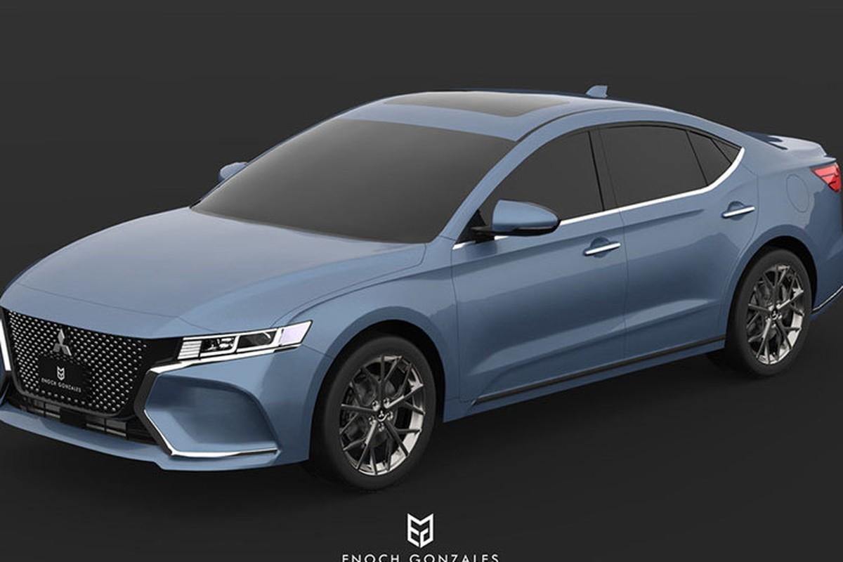 Mitsubishi Gallant the he moi se hoi sinh vao nam 2020?-Hinh-3