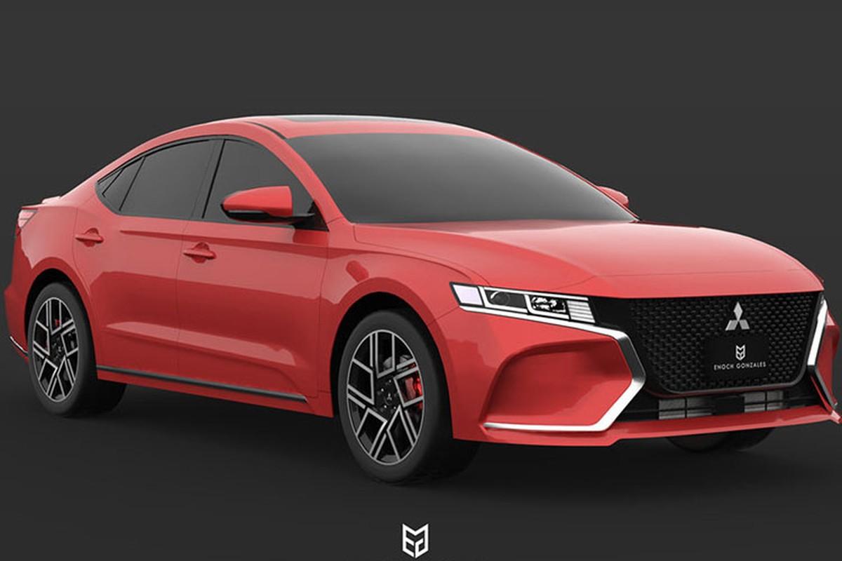Mitsubishi Gallant the he moi se hoi sinh vao nam 2020?