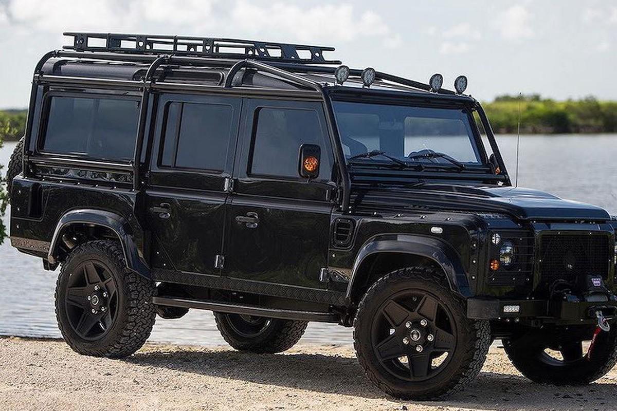 Xem Land Rover Defender 110 do khung tu trong ra ngoai-Hinh-2