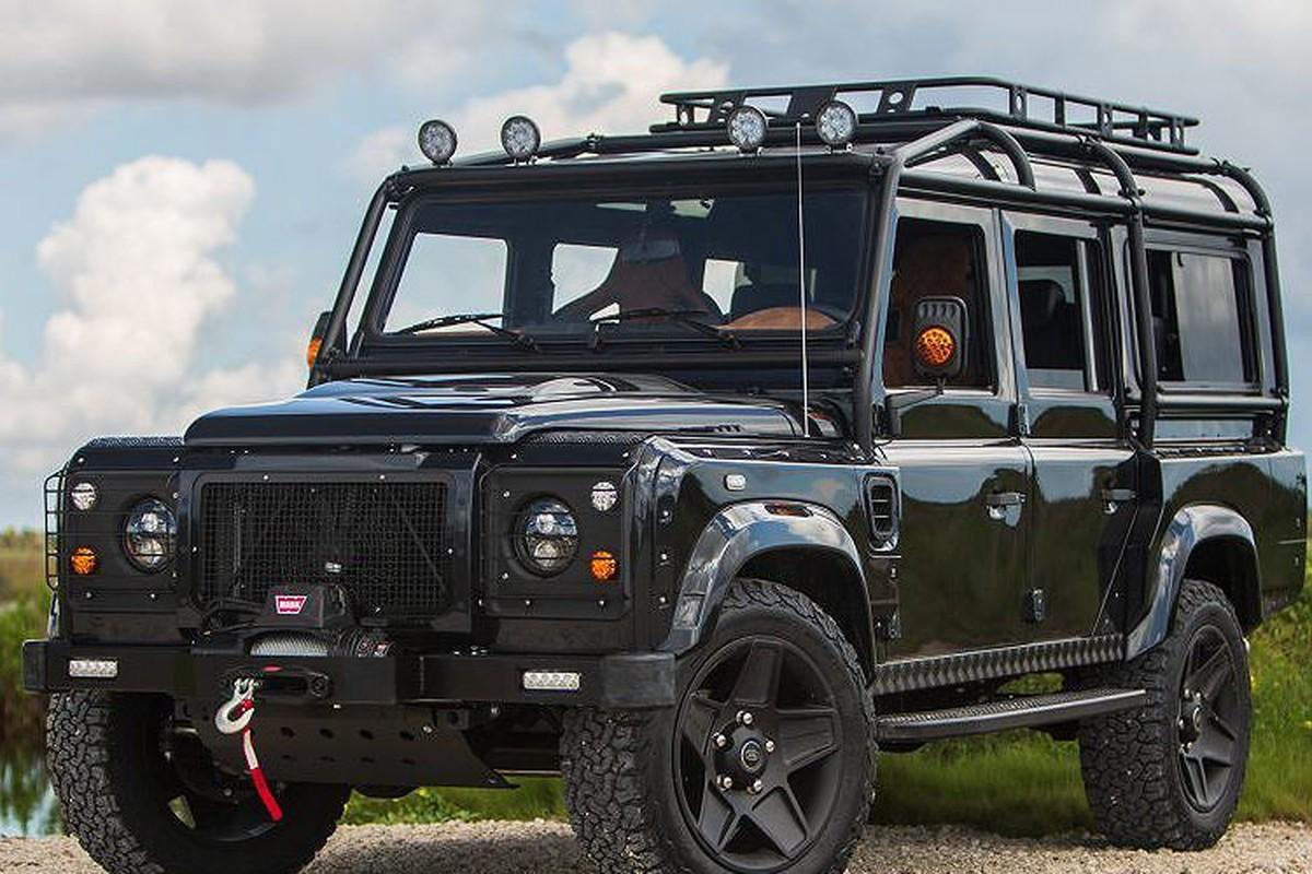 Xem Land Rover Defender 110 do khung tu trong ra ngoai-Hinh-3