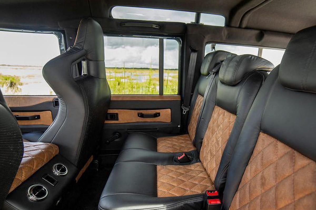 Xem Land Rover Defender 110 do khung tu trong ra ngoai-Hinh-9