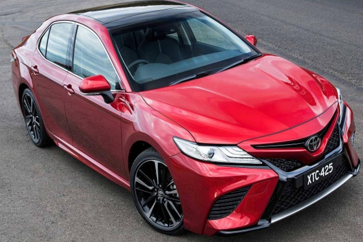 Toyota Camry 2019 hoan toan moi sap chinh thuc ra mat-Hinh-2