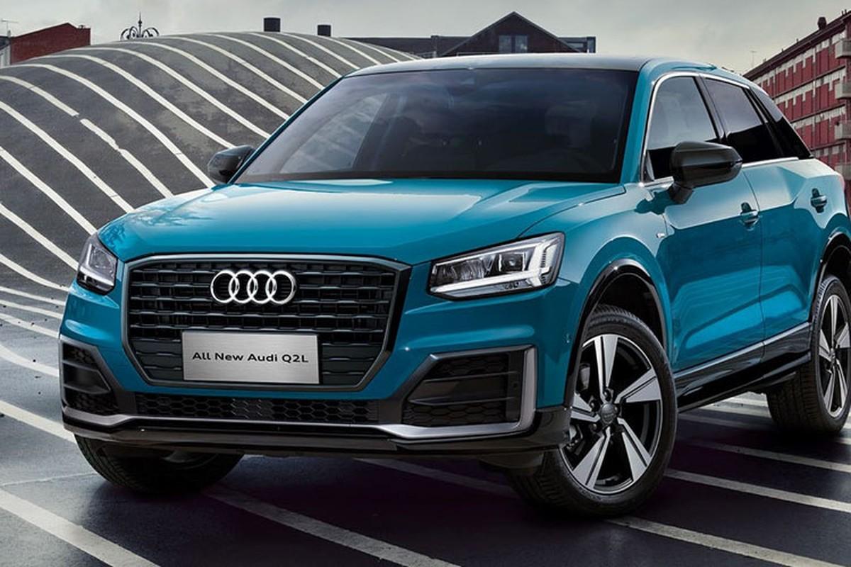 "Audi Q2L 2018 phien ban ""la"" gia chi 730,5 trieu dong"