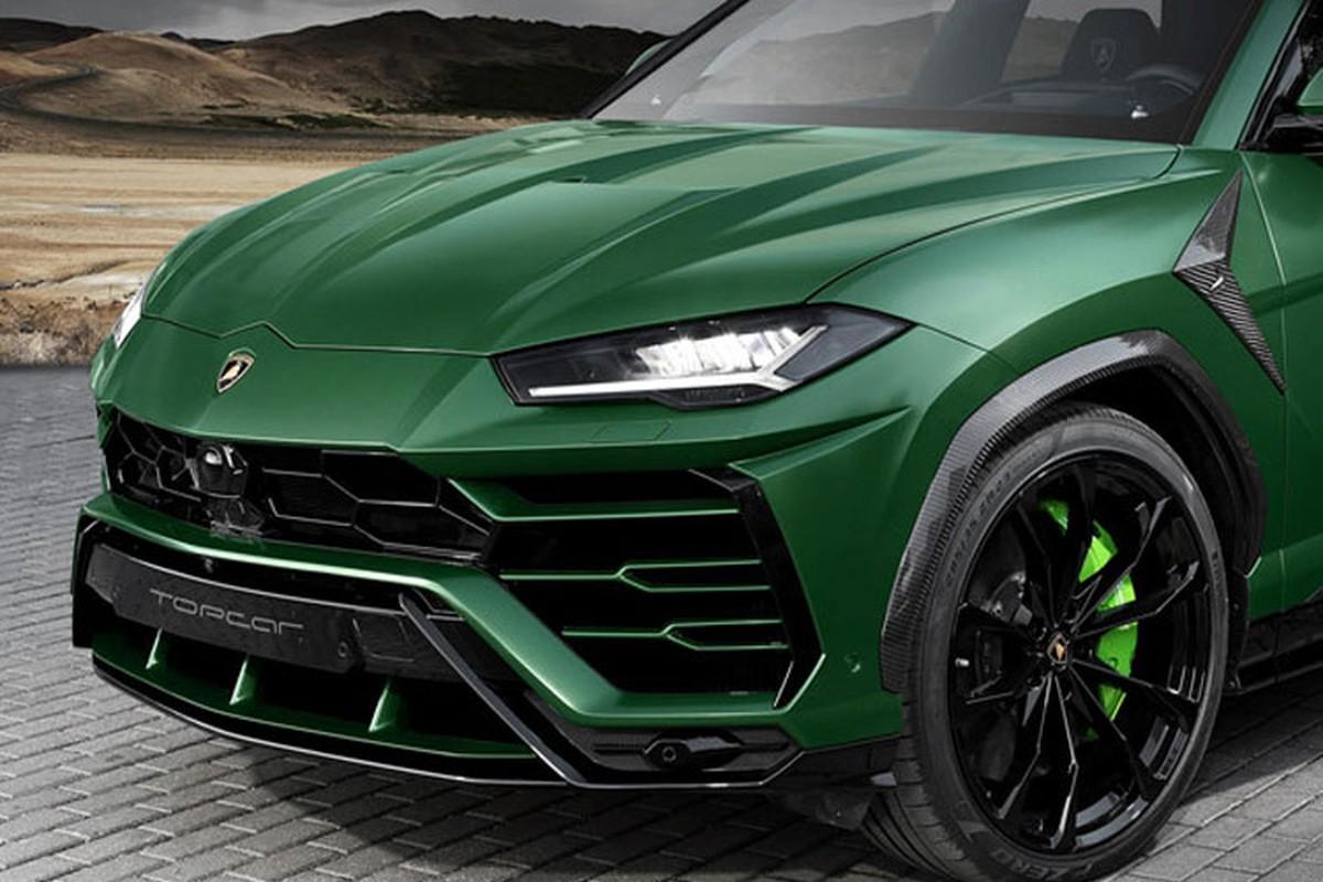 Sieu SUV Lamborghini Urus do xe quan doi Nga cuc chat-Hinh-2