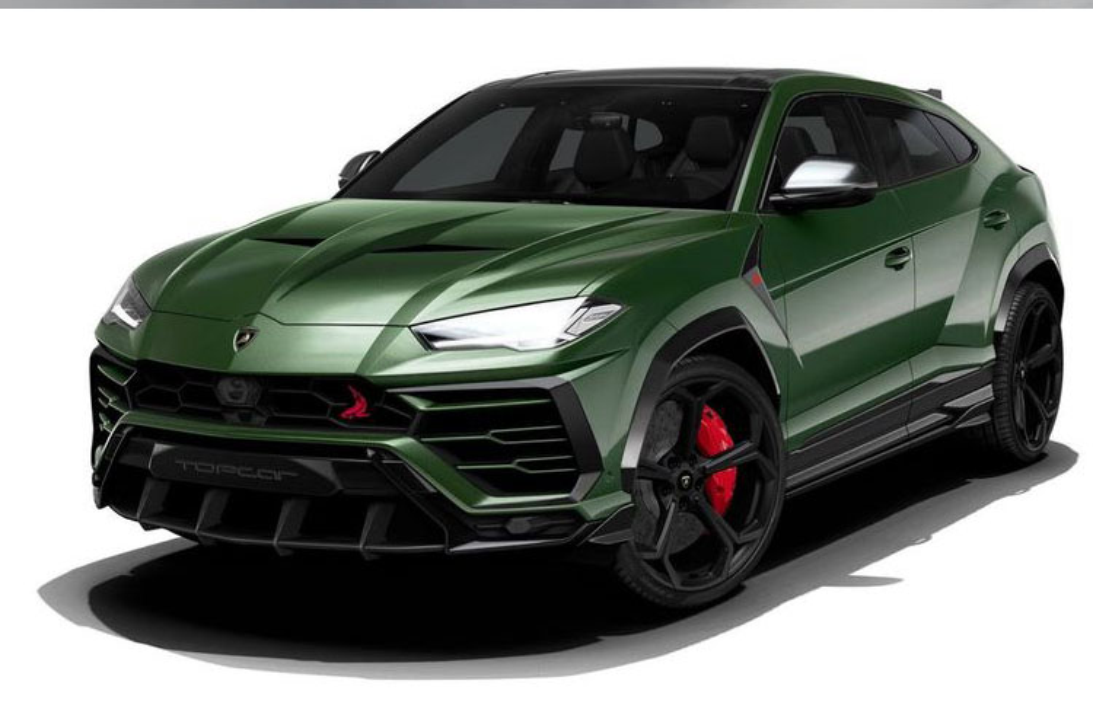 Sieu SUV Lamborghini Urus do xe quan doi Nga cuc chat