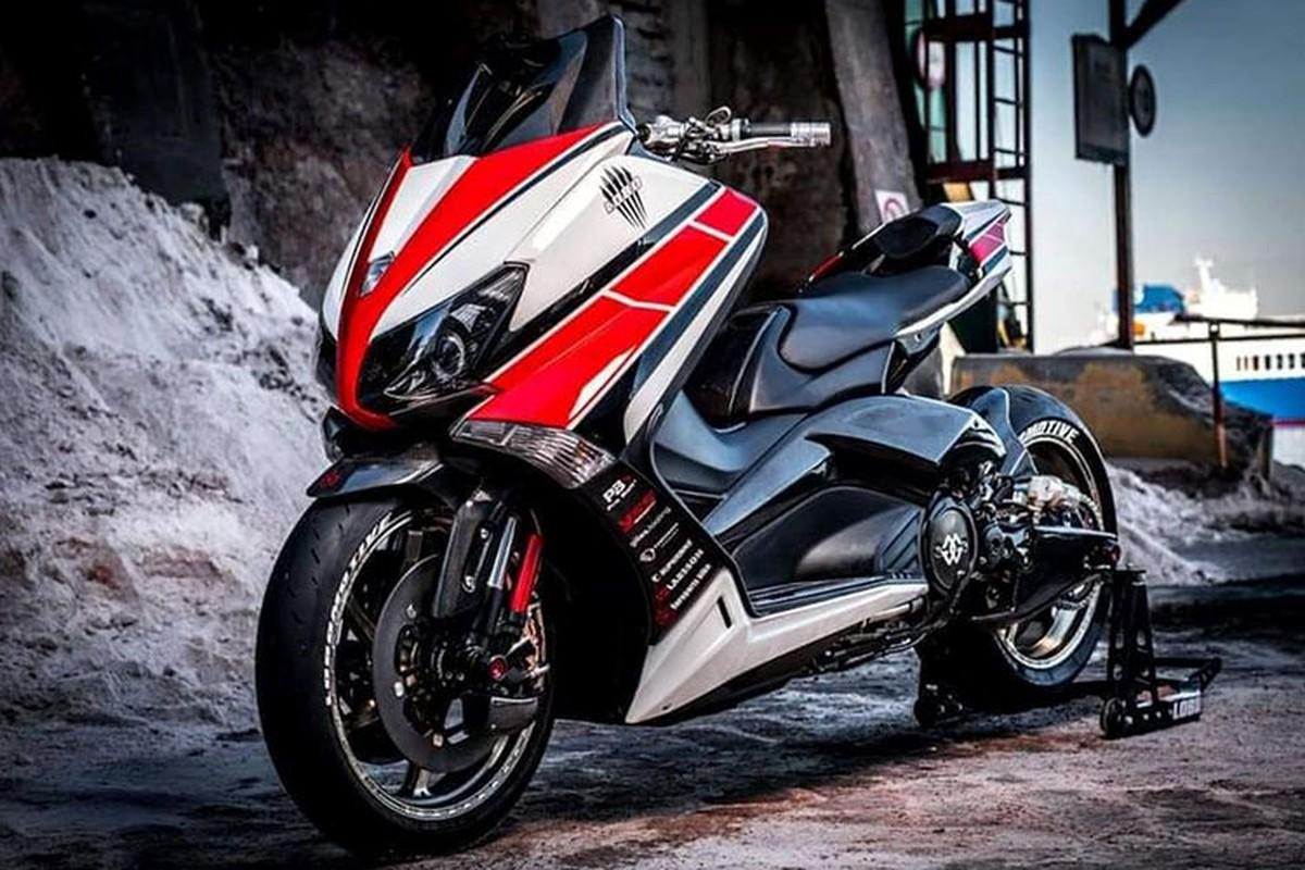 "Xe ga Yamaha TMAX ""nhai"" sieu moto YZF-R1 cuc doc-Hinh-2"