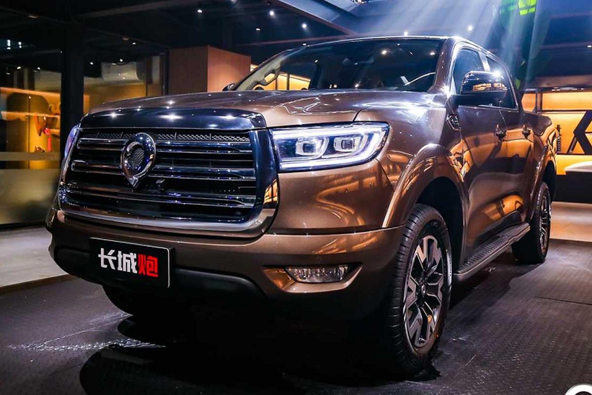 Xe ban tai Trung Quoc - Great Wall doi dau Toyota va Ford