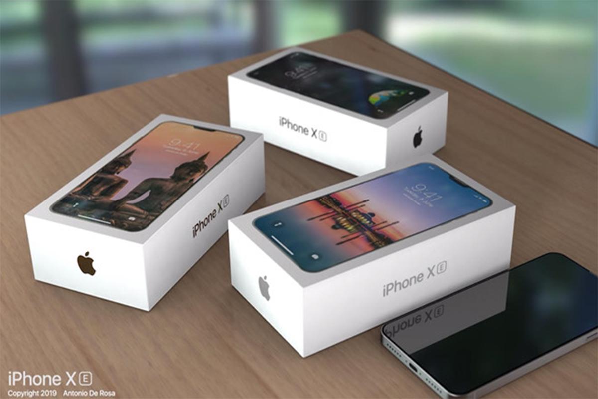 Chan dung dien thoai gia re iPhone SE 2 qua tin don