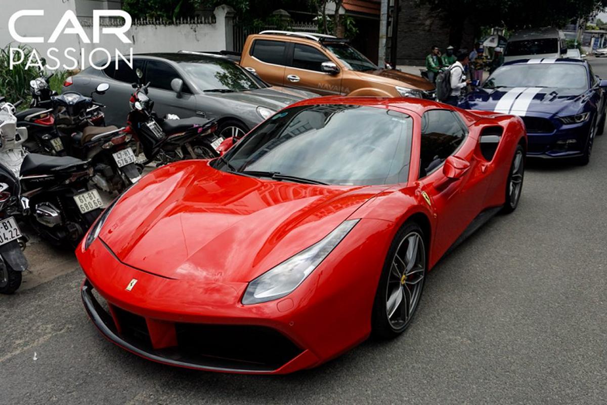 Chi tiet Ferrari 488 Spider tien ty cua Cuong Do la-Hinh-9