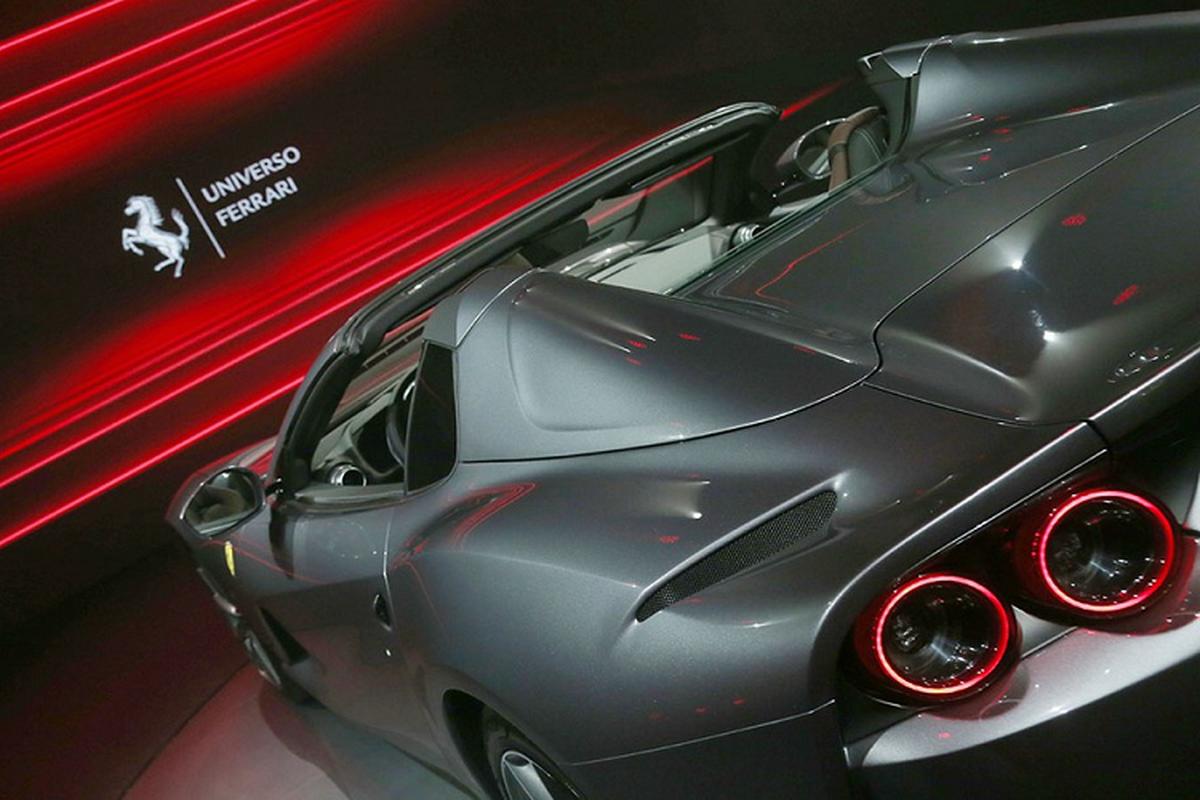 Sieu xe Ferrari 812 GTS V12 manh hon Aventador SVJ Roadster-Hinh-4