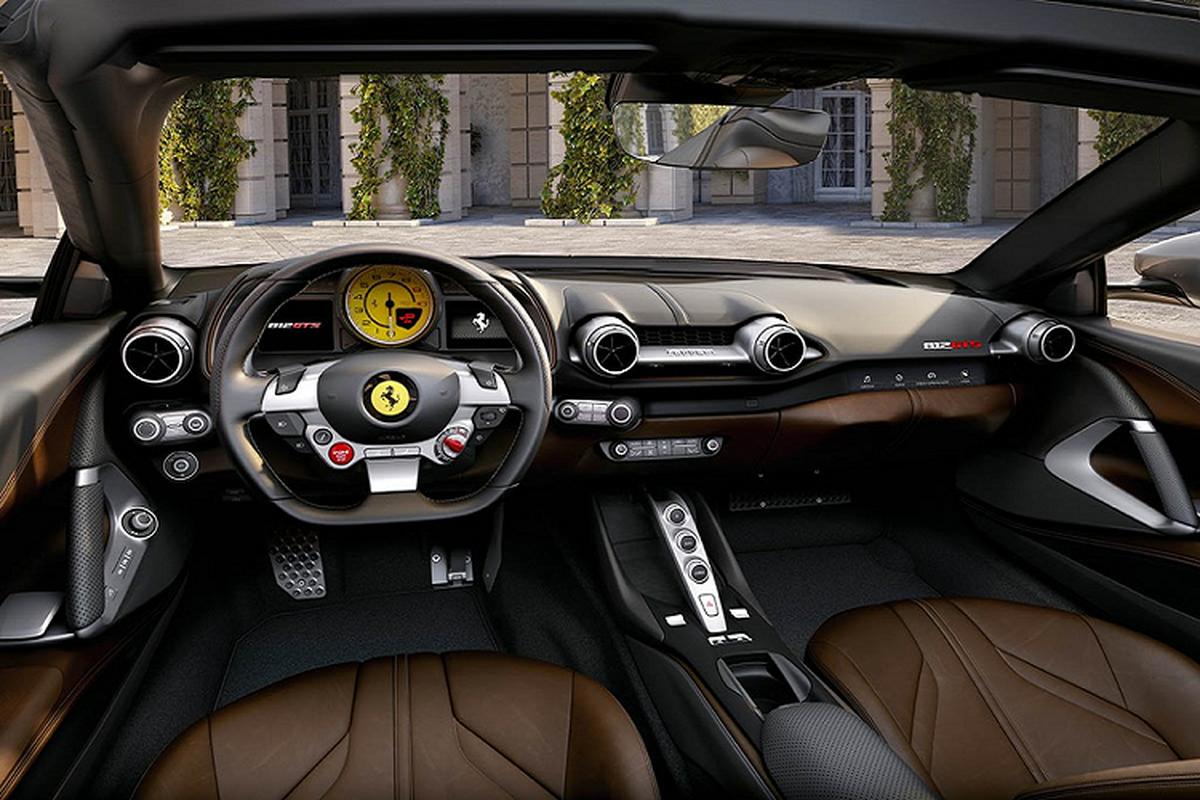 Sieu xe Ferrari 812 GTS V12 manh hon Aventador SVJ Roadster-Hinh-7