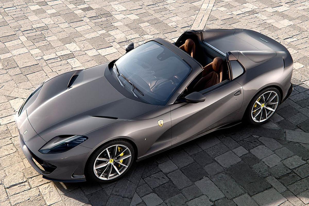 Sieu xe Ferrari 812 GTS V12 manh hon Aventador SVJ Roadster-Hinh-9