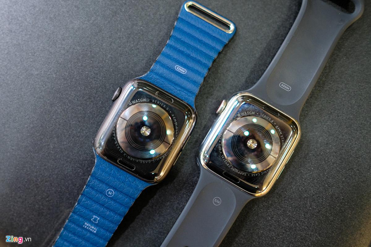Trai nghiem Apple Watch Series 5 moi gia 12 trieu dong-Hinh-2