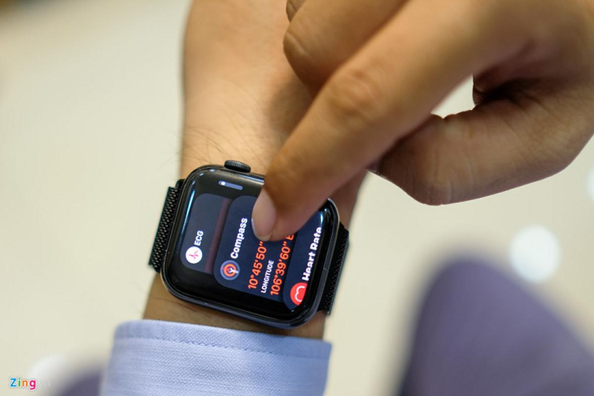 Trai nghiem Apple Watch Series 5 moi gia 12 trieu dong-Hinh-5