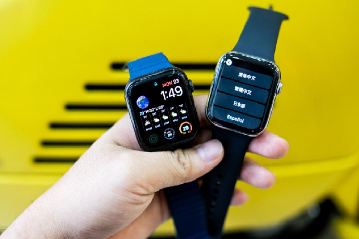 Trai nghiem Apple Watch Series 5 moi gia 12 trieu dong