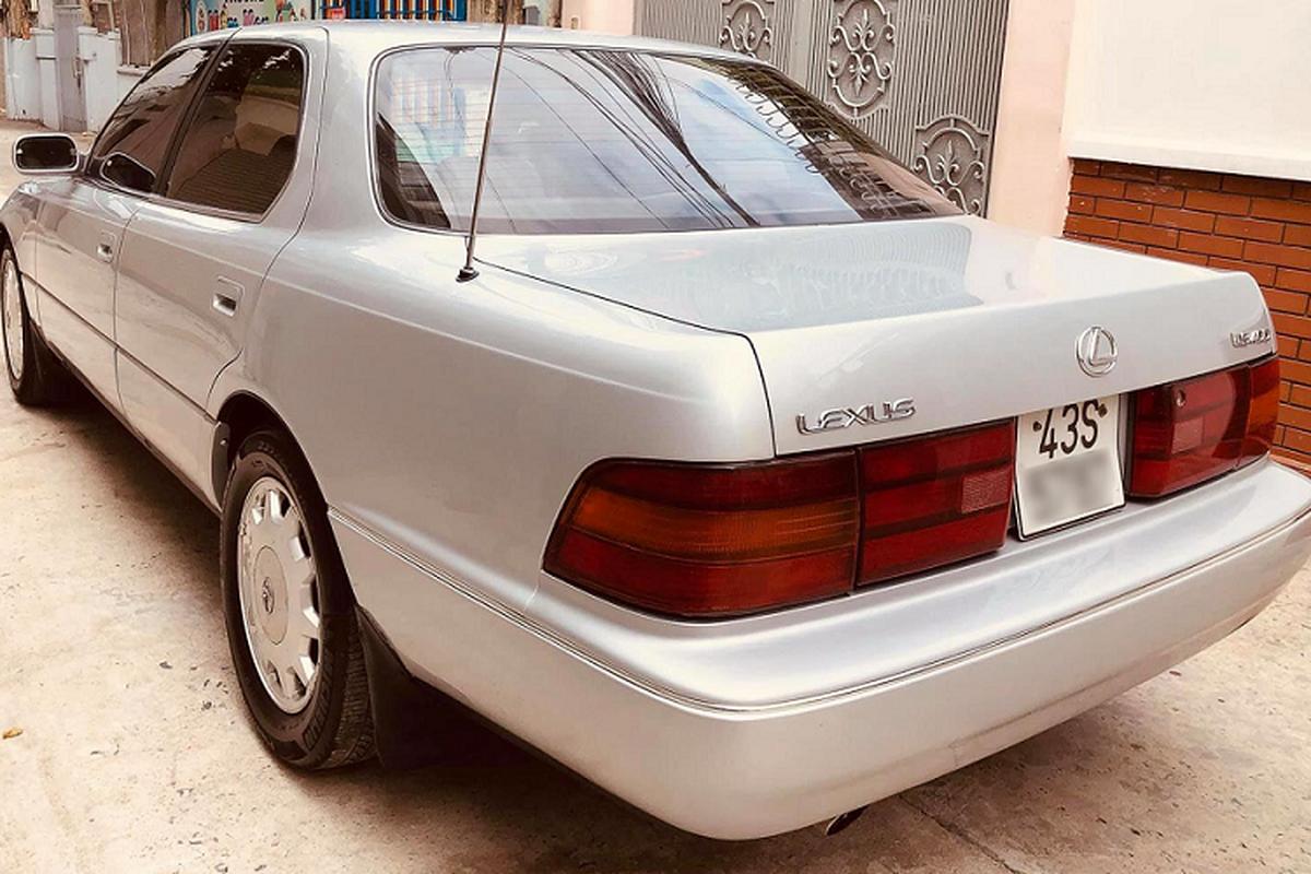Xe sang Lexus LS400 gan 30 tuoi ban 170 trieu o Sai Gon-Hinh-3