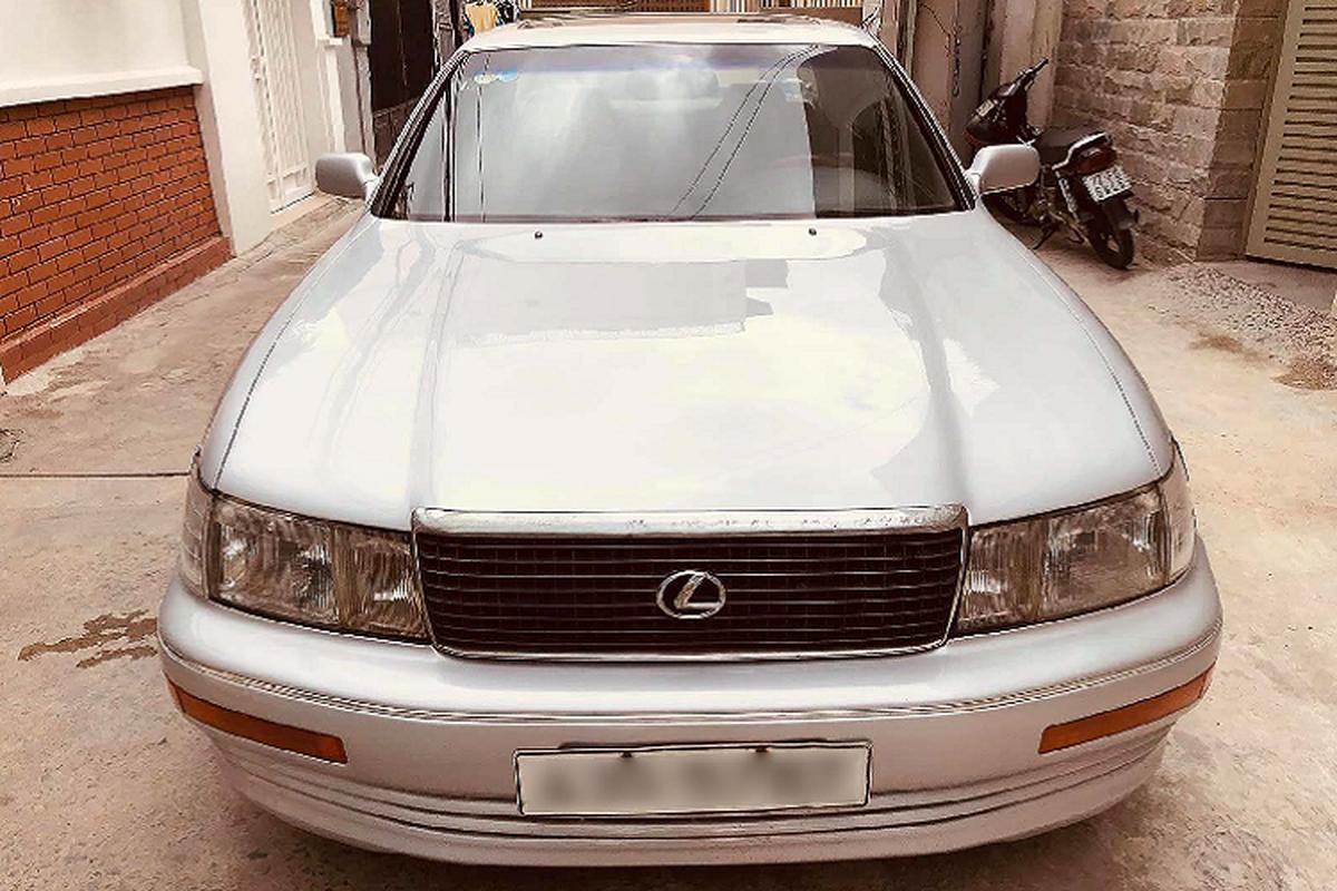 Xe sang Lexus LS400 gan 30 tuoi ban 170 trieu o Sai Gon-Hinh-9