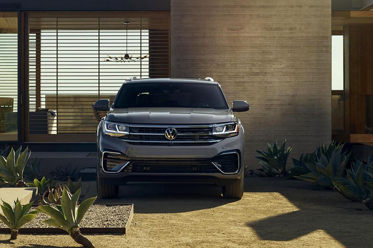 SUV Coupe Volkswagen Atlas Cross Sport 2020 ra mat toan cau-Hinh-2
