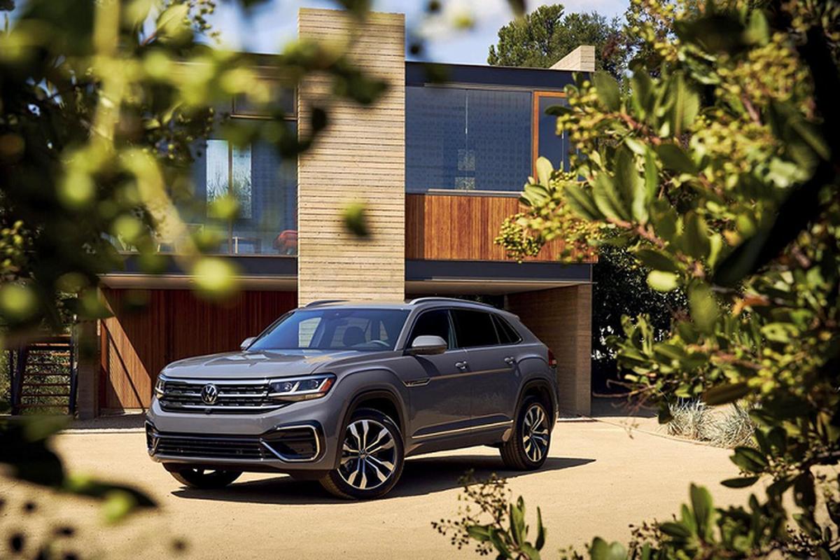 SUV Coupe Volkswagen Atlas Cross Sport 2020 ra mat toan cau-Hinh-6