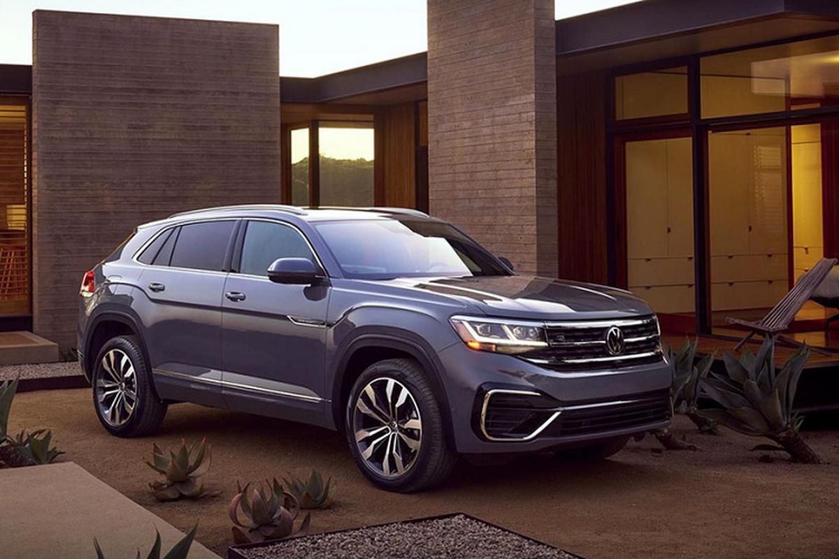 SUV Coupe Volkswagen Atlas Cross Sport 2020 ra mat toan cau