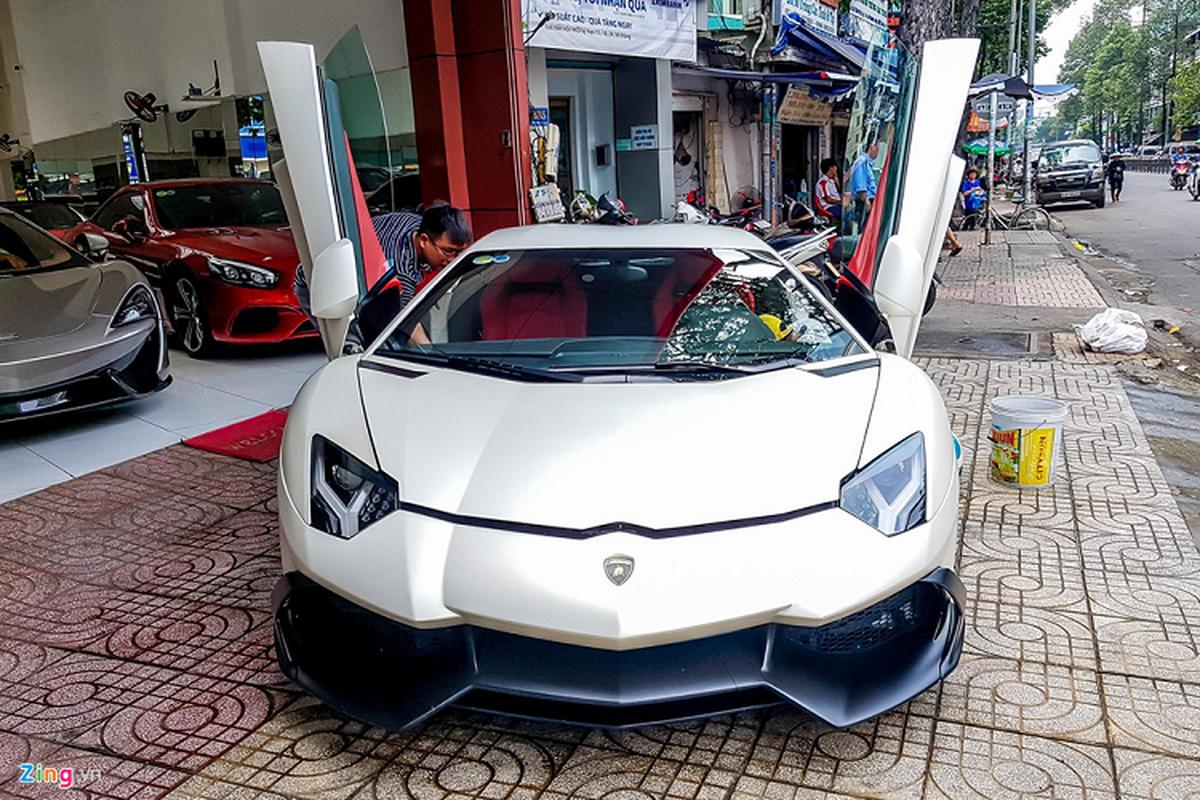 Lamborghini Aventador ban ky niem 50 nam tai Sai Gon-Hinh-5