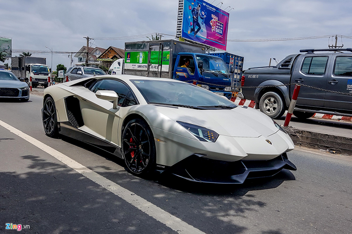 Lamborghini Aventador ban ky niem 50 nam tai Sai Gon-Hinh-9