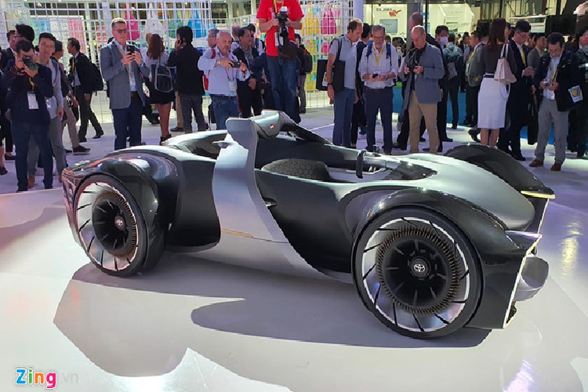 Concept xe the thao tuong lai e-Racer