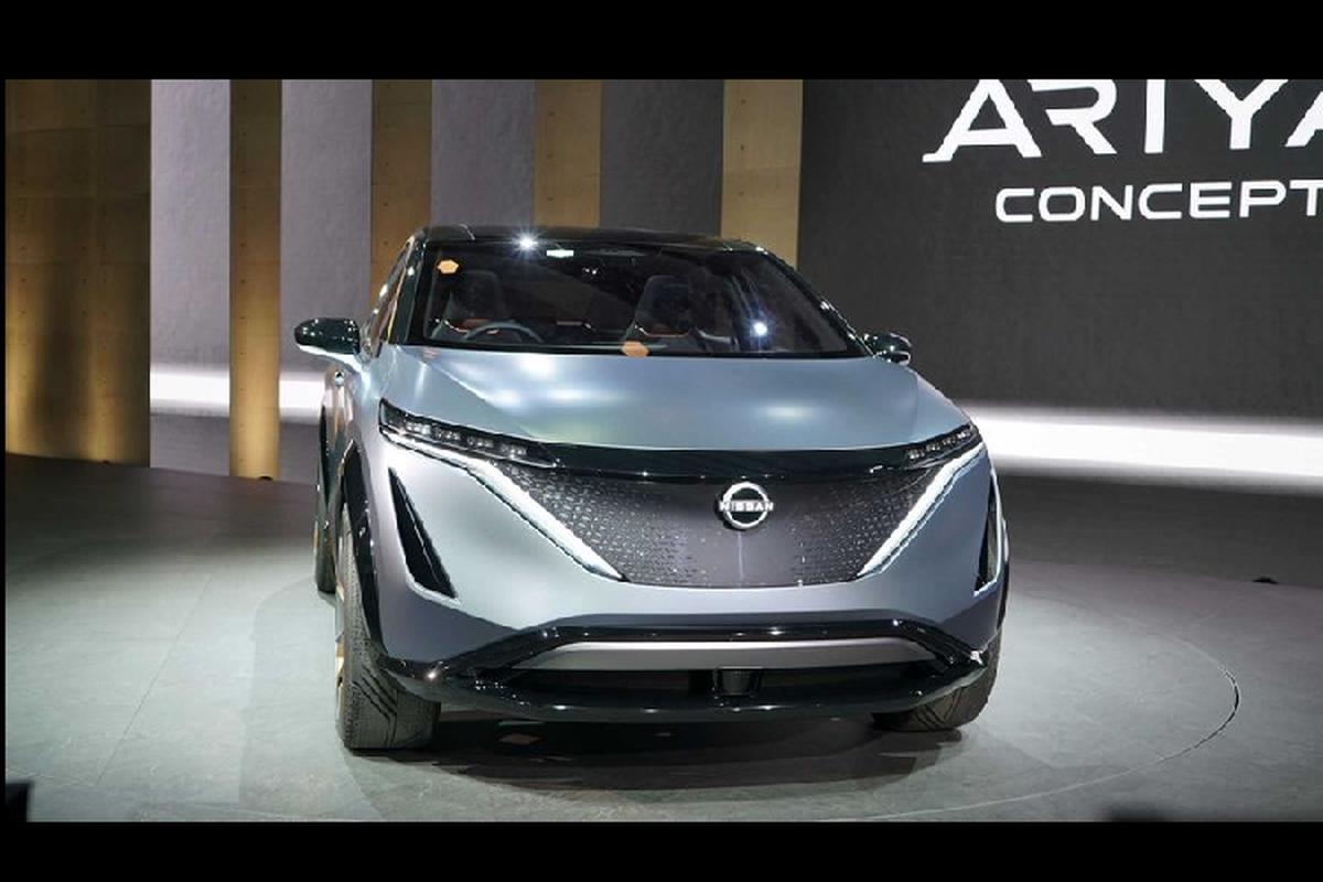 Ngam crossover chay dien tuong lai - Nissan Ariya Concept moi-Hinh-3