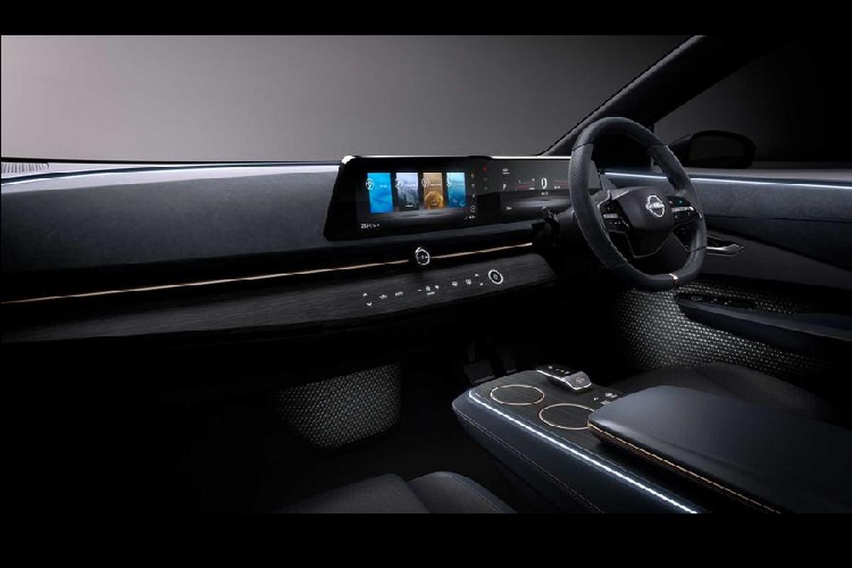 Ngam crossover chay dien tuong lai - Nissan Ariya Concept moi-Hinh-5
