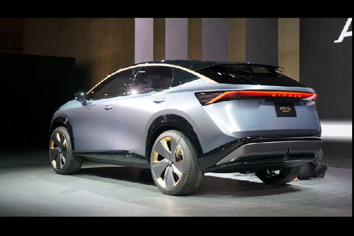 Ngam crossover chay dien tuong lai - Nissan Ariya Concept moi-Hinh-6