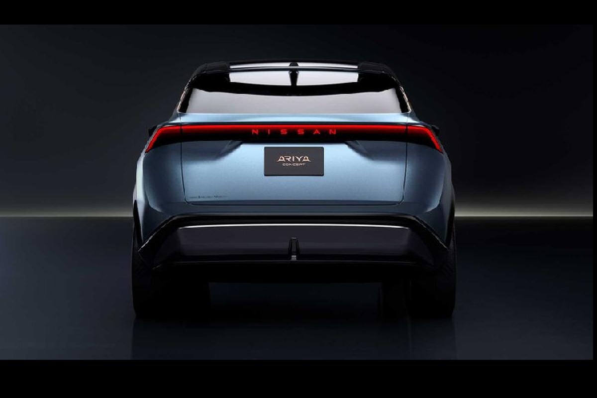 Ngam crossover chay dien tuong lai - Nissan Ariya Concept moi-Hinh-7