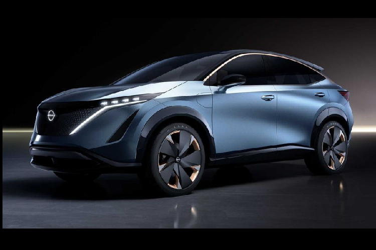 Ngam crossover chay dien tuong lai - Nissan Ariya Concept moi
