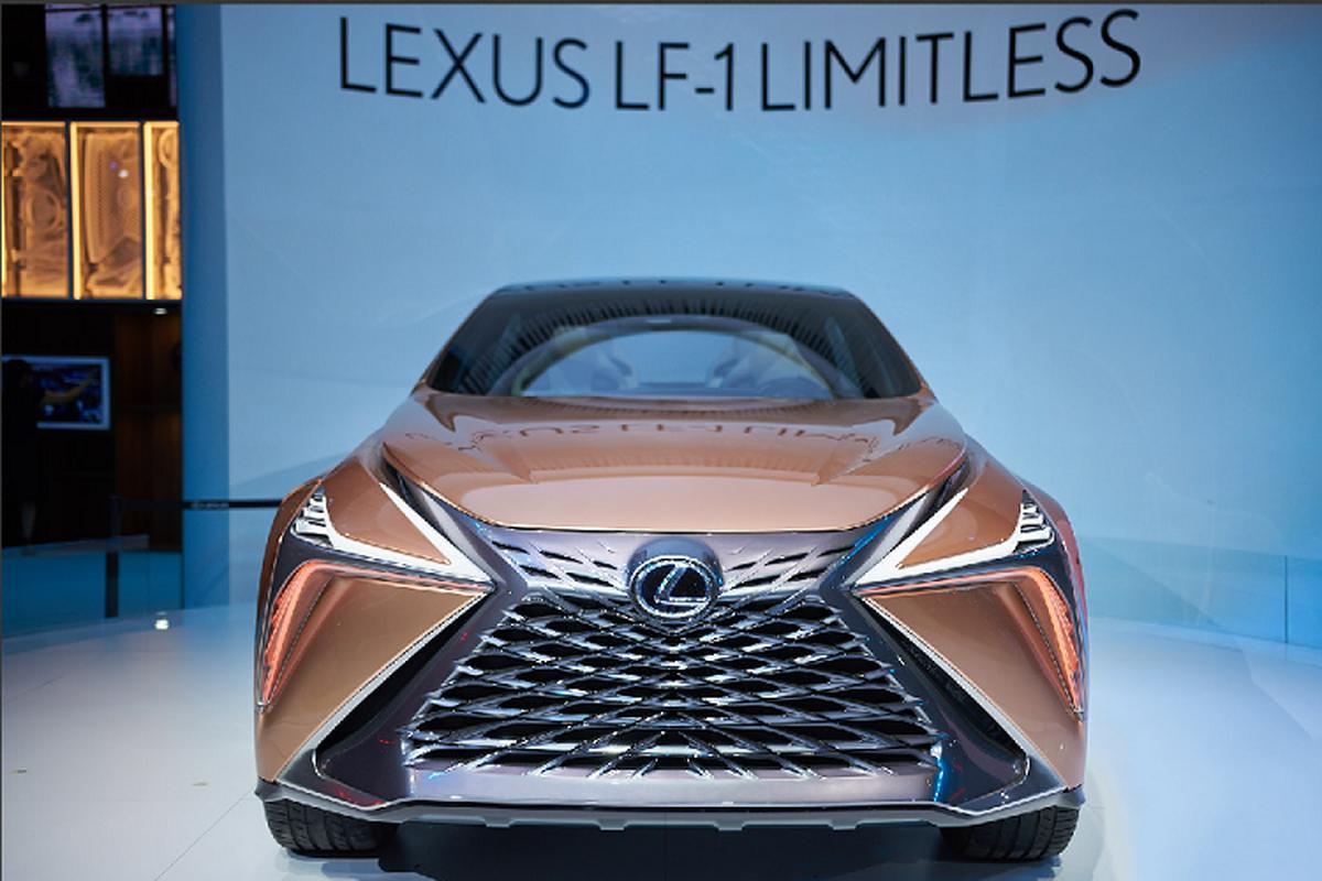 Ngam xe sang Lexus LF-1 Limitless moi tai trien lam VMS 2019-Hinh-6
