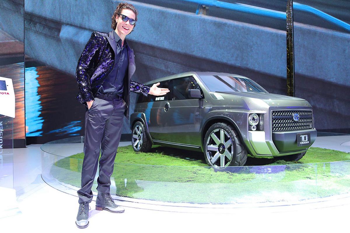 TJ Cruiser Concept - diem nhan duy nhat cua Toyota tai VMS 2019-Hinh-2
