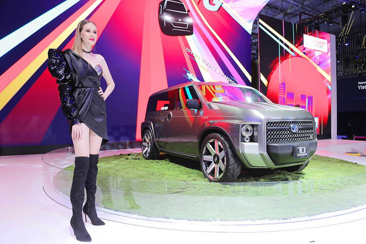 TJ Cruiser Concept - diem nhan duy nhat cua Toyota tai VMS 2019-Hinh-4
