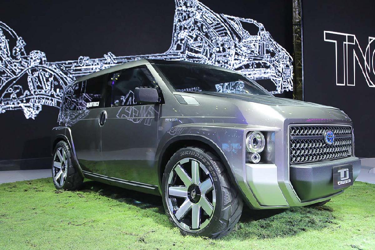 TJ Cruiser Concept - diem nhan duy nhat cua Toyota tai VMS 2019